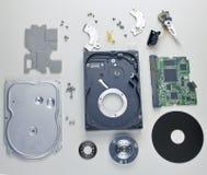 Disco rigido dal computer Fotografia Stock Libera da Diritti