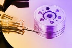 Disco rigido del calcolatore Fotografia Stock