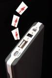 Disco rigido mobile Fotografie Stock Libere da Diritti
