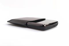 Disco rigido portatile Fotografia Stock
