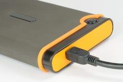 Disco rigido portatile Fotografie Stock Libere da Diritti