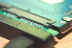 disco rigido via USB Fotografie Stock Libere da Diritti