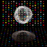 Disco scribble Royalty Free Stock Images