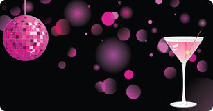Disco shiny background Royalty Free Stock Images