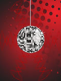 Disco sphere Stock Image