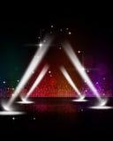 Disco Stage Spotlights royalty free stock photos