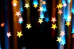 Disco stars Royalty Free Stock Photo