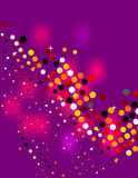 Disco style background Royalty Free Stock Photos