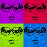 Disco style royalty free illustration