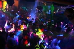 Disco-Tanzen-Leute Stockfotografie