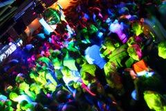 Disco-Tanzen-Leute Stockfotos