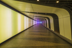 Disco Tunnel at King's Cross St. Pancras station Stock Image