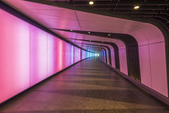 Disco Tunnel at King's Cross St. Pancras station Stock Photos