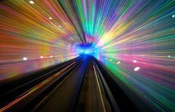 Disco Tunnel Royalty Free Stock Photo