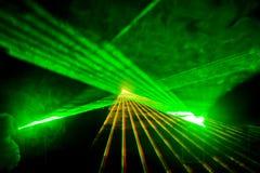 Disco und Laser-Erscheinen lizenzfreie stockfotos