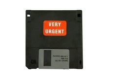Disco urgente do computador Foto de Stock Royalty Free