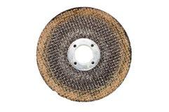 Disco usato per il taglio del metallo Fotografie Stock Libere da Diritti