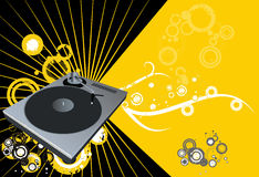 disco vector Στοκ Εικόνα