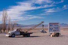 Disco volante al piccolo A'Le'Inn Fotografia Stock