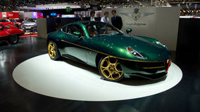 Disco Volante Touring Superleggera Geneva 2014. Geneva, 84th Salon de l'Auto 2014 Stock Photography