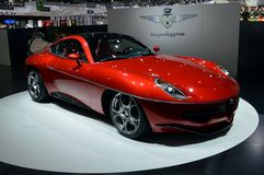 Disco Volante Touring Superleggera. Geneva, 83th Salon de l'Auto 2013 Stock Photography