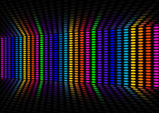 Disco wall Stock Photo