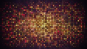 Disco wall with flashing lights and smoke abstract background stock illustration
