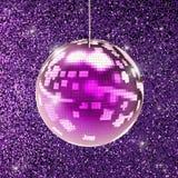 disco świecąca balowa Obrazy Stock