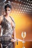 Disco wine Stock Image