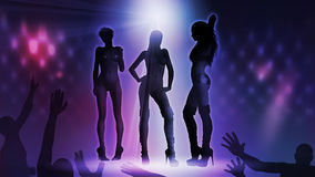 Disco Woman stock image
