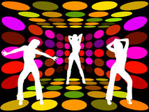 Disco Women Stock Photography