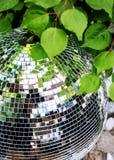Discobal bij club royalty-vrije stock afbeeldingen