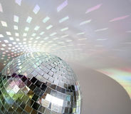 discoball光 免版税图库摄影