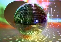 discoball światła zdjęcia stock