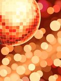Discoball. Disco ball dance dancefloor background Royalty Free Stock Images