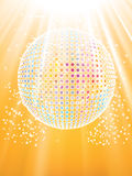 Discoball Photographie stock