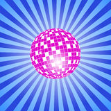 Discoball with stars Royalty Free Stock Photography