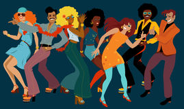 Discoclub vector illustratie