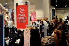 25% discocut sprzedaż przy sklepem tylko Obraz Stock