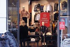 25% discocut sprzedaż przy sklepem tylko Fotografia Stock