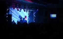 Discohalle Stockbild