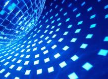 Discokugel mit Ablichtung stockfoto