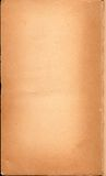 Discolored Vintage Print Book End Paper Royalty Free Stock Photography