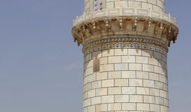 Discolouration of the Taj Mahal, India Stock Photos