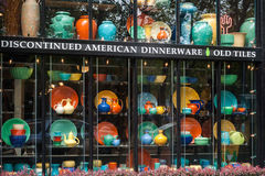 Discontinued American dinnerware store, Seattle Stock Photos
