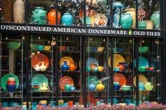 Discontinued Amerykański dinnerware sklep, Seattle Zdjęcia Stock