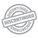 Discontinued rubber stamp Royalty Free Stock Image