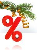 Disconto do Natal Foto de Stock Royalty Free
