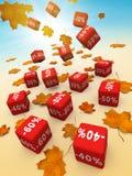 Disconto do outono Foto de Stock Royalty Free