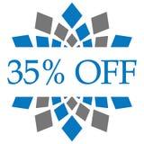 Disconto 35 por cento fora Fotos de Stock Royalty Free